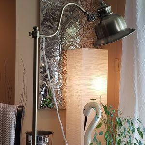 Kirkland's Accents - Vintage Antique Gold Task Lamp Set
